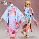 Free Shipping Fate Stay Night FGO Saber Haregi Kimono Cosplay Costume