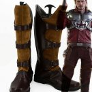 Free Shipping Guardians of the Galaxy Star Lord Peter Jason Quill Cosplay Shoes Boots