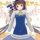 Free Shipping The Ryuo's Work is Never Done Hinatsuru Ai Outfit Cosplay Costume Custom Made