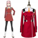 Free Shipping DARLING in the FRANXX Cosplay Costume 02 Cosplay Costume