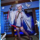 Free Shipping 2018 Anime Vocaloid Snow MIKU Yuki Witch Kagura ver. Kimono Cosplay Costume