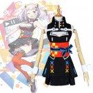 Free Shipping  AI Youtuber Kaguya Luna Cosplay Costume Virtual Youtuber AI Black Gothic Lolita Dress
