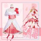 Free Shipping Magical Girl Ore Mahoshojo Ore Saki Uno Cosplay Costume Cosplay Dress