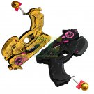 Overwatch D.va DVA Gold Weapon Cosplay Black Cat Gun hand gun props accessories