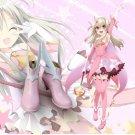 Free Shipping  Fate Kaleid Liner Illya Illyasviel von Einzbern Magical Girl Cosplay Shoes