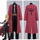 Free Shipping Fullmetal AlcFullMetal Alchemist Edward Elric Cosplay Costume