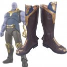 Free Shipping Avengers Infinity War Thanos Cosplay Boots Shoes Custom Made