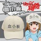 Free Shipping Cells at Work Hataraku Saibou Platelet Kesshoban cosplay Hat Cap