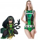 Free Shipping My Hero Academia Asui Tsuyu Cosplay Costume Swimsuit  Swimwear