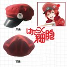 Free Shipping Cells at Work Hataraku Saibou Erythrocite/Red Blood Cell  cosplay Hat Cap