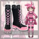 Free Shipping  Gun Gale Online Kohiruimaki Karen Llenn Cosplay Shoes Boots