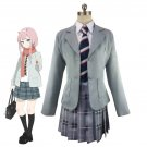 Free Shipping DARLING in the FRANXX ZERO TWO School Uniform Dress Outfit Anime Cosplay Costumes
