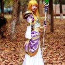 Free Shipping Jaina Proudmoore World of Warcraft cosplay costume