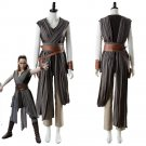 Free Shipping star wars The Last Jedi Rey cosplay Costume Star wars 8 Rey