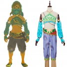 Free Shipping The Legend of Zelda Cosplay Breath of the Wild Link Cosplay Costume Outfit