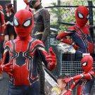 Kids Children Spiderman Avengers Infinity War Cosplay Costume Zentai Iron Spider Bodysuit Jumpsuits