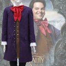 Free Shipping Movie Beauty And The Beast Lefou Cosplay Costumes Men Outfit