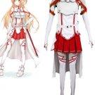 Free Shipping Sword Art Online Asuna Yuuki Cosplay Costume
