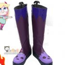 Free Shipping Star vs.the Forces of Evil Princess Star Butterfly Purple Cosplay Shoe Boot