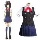 Free Shipping Another Misaki Mei Akazawa Izumi costume anime cosplay girls japanese school uniform