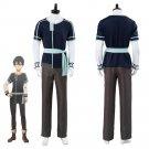 Free Shipping Sword Art Online Alicization Kazuto Kirigaya Kirito Outfit Cosplay Costume
