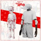 Free Shipping  Hataraku Saibou Cells At Work Young Child Neutrophil White Blood Cell Cosplay Costume