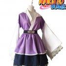Free Shipping Naruto Shippuden Hyuga Hinata Lolita Kimono Dress Cosplay Costume
