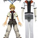 Free Shipping Kingdom Hearts Roxas Cosplay Costume Tailor Made