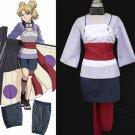 Free Shipping NARUTO anime cosplay Temari costume