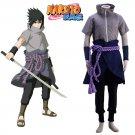 Free Shipping Naruto Uchiha Sasuke Cosplay Costume Anime Customized