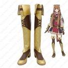 The rising of the shield hero Tate no Yuusha no Nariagari boots Raphtalia Cosplay Shoes