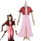 Free shipping  Final Fantasy VII Aeris Cosplay FF7 Aerith Cosplay Costume