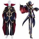 Free shipping  Code Geass Lelouch of the Resurrection Zero Cosplay Costume Custom Made