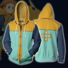 Free Shipping Grizzly's Sin of Sloth Harlequin king Hoodie The Seven Deadly Sins Sweatshirt