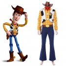 Free Shipping Toy Story Cosplay Woody Costume Cowboy Suit