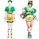 Free Shipping OW Mei Cosplay Costume Honeydew Skin Outfit Overwatch