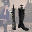Free Shipping Alice Madness Returns Alice Cosplay Shoes Boots Custom Made