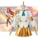 Free Shipping Battle Academia Lux Cosplay Costume LoL Lux  Prestige Edition