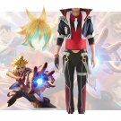 Free Shipping Battle Academia Ezreal Cosplay Costume LOL