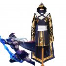 Free Shipping  LOL Ashe Cosplay Costume Custom Made