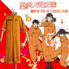 Free Shipping Enn Enn No Shouboutai Fire Force Shinra Kusakabe Cosplay Costume