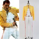 Free Shipping Queen Lead Vocals Freddie Mercury Cosplay Costume