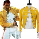 Free Shipping Queen Lead Vocals Freddie Jacket Mercury Cosplay Costume