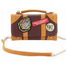 Free Shipping Potter Wallet Bag Hogwarts PU School Badge Wallet Shoulder Bag Handbags