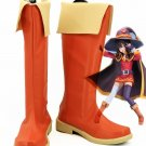 Free Shipping God's Blessing on this Wonderful World Cosplay KonoSuba Megumin Shoes Boots Custom