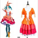 Free Shipping Monogatari Series Nisemonogatari Yotsugi Ononoki Dress Transformed Cosplay Costume