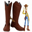 Free Shipping Woody Shoes Cosplay Toy Story Sheriff Woody Cosplay Boots Custom Made