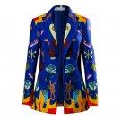 Free Shipping Birds of Prey Harley Quinn Cosplay Costume Jacket Custom Made
