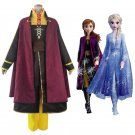 Free Shipping 2019 Movie Frozen 2 Anna Cosplay Costume