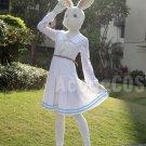 Free Shipping  Beastars Haru Cosplay Costume White Rabbit Full Set